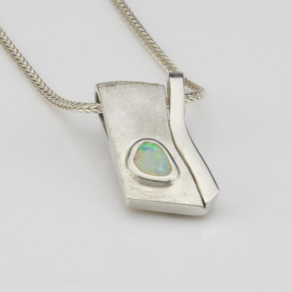 Anhaenger-Silber-Opal