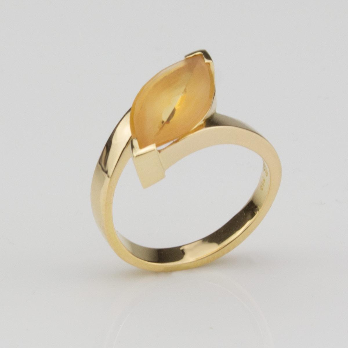 Ring-Gold-Citrin