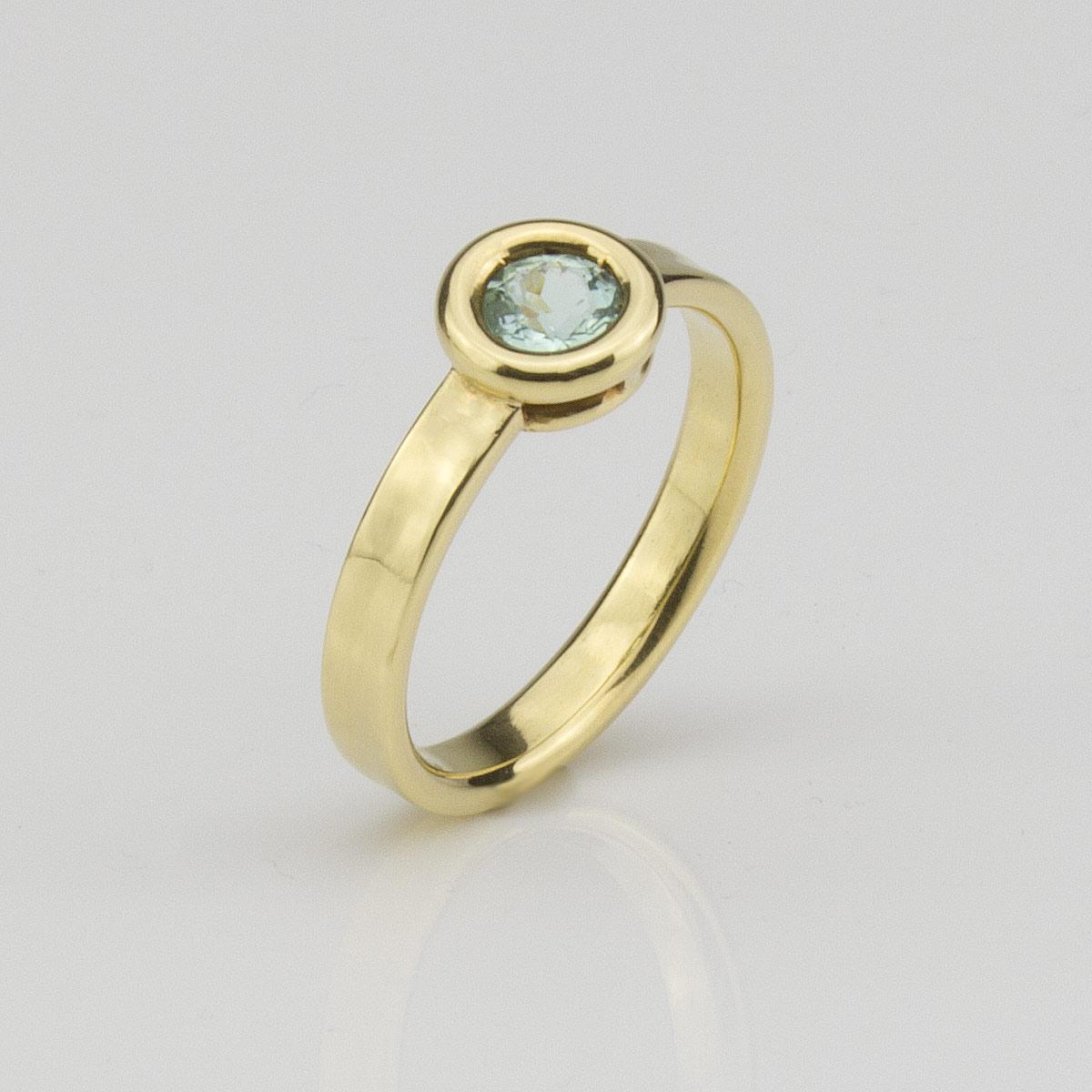 Ring-Gold-Turmalin